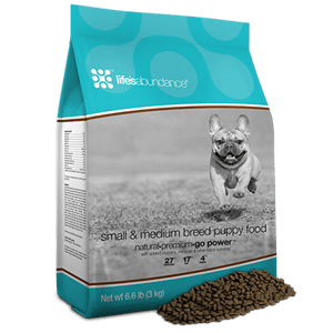 Life S Abundance Small Amp Medium Breed Puppy Food Healthy